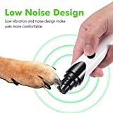 Norbi Dog Nail Grinder Pet Dog Nail Grinder Paw Grooming Tool Dog Grinder Head Replacement
