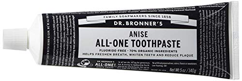 (Dr. Bronner's Anise Toothpaste. Fluoride-Free Natural Toothpaste with Organic Ingredients)