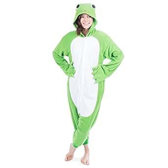amazoncom emolly fashion adult frog animal onesie