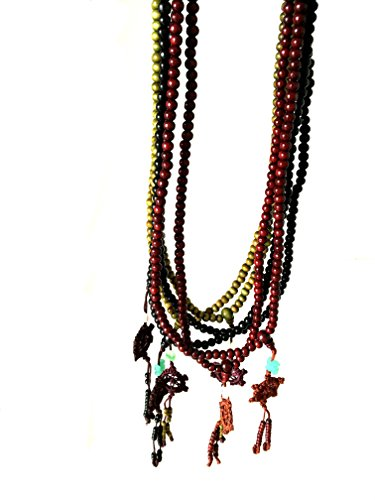 Acupress Sandalwood Buddhist Bracelet Necklace product image