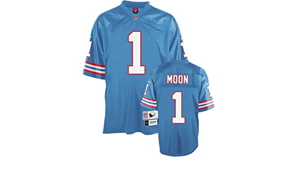 afb870df Amazon.com : Reebok Houston Oilers Warren Moon Premier Throwback Jersey XX  Large : Sports Fan Jerseys : Sports & Outdoors