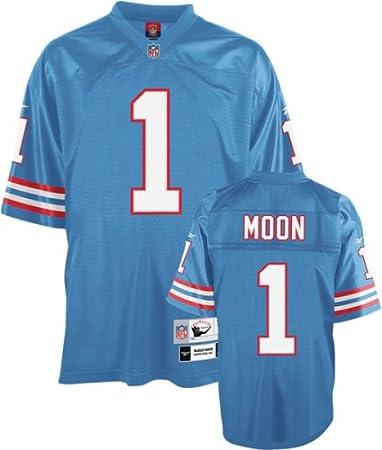 new concept b57ef d6865 Amazon.com : Reebok Houston Oilers Warren Moon Premier ...