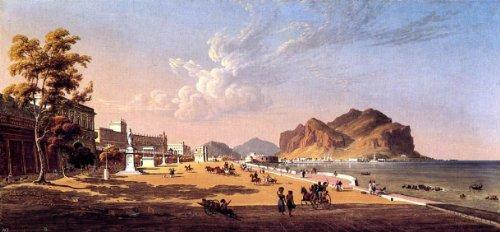 (Robert Salmon View of Palermo - 15.05
