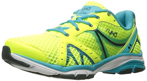 Ryka Women's Vida RZX Cross Trainer, Lime/Blue/Teal, 7 M US