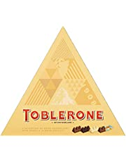 Toblerone Selectievak 200g–Melk, Donkere, Witte en Knapperige Amandelen – Je Kunt Toblerone Niet Over Hoofd Zien. Een Spectaculaire Traktatie Voor Jezelf of Iemand Van Wie Je Houdt