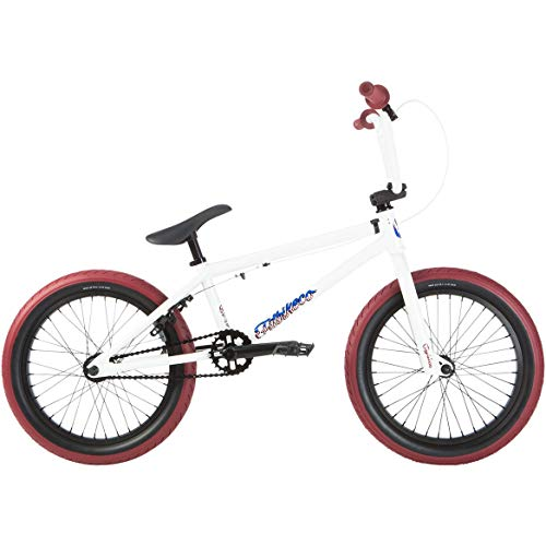 Fit 2019 BMX Eighteen Pearl White Complete Bike