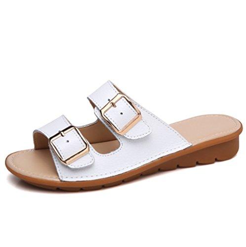 Piatto Traspirante Pantofole Fondo della Pistoni Spiaggia Casual B weiwei Ladies Morbido Summer Twnq4TEBx