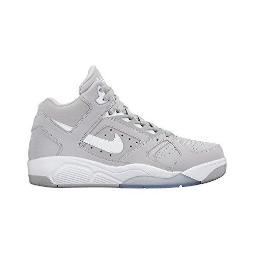 Nike - Zapatillas de piel para hombre Gris Gris