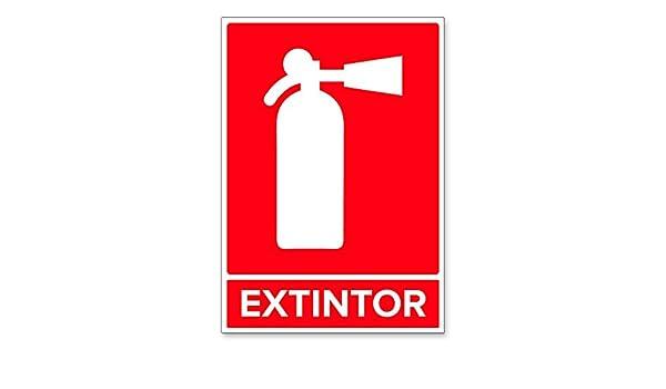 Señal Extintor | Señalética en Material Aluminio Dibond ...