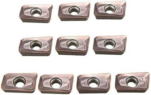 PIKA PIKA QIO 10pcs R5 Carbide Einsatzfräsungen Threading Einsatz for Drehwerkzeug Holde Drehwerkzeuge