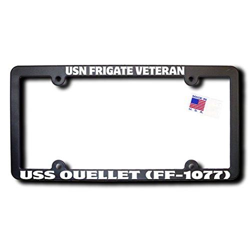 USN Frigate Veteran USS OUELLET (FF-1077) License Frame -  James E. Reid Design, FFVT-079
