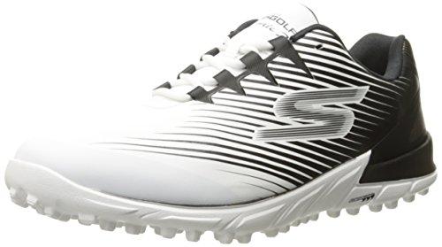 Skechers Performance Men's Go Golf Bionic 2 Golf Shoe, White/Black, 10.5 M US (Skechers Golf Shoes compare prices)