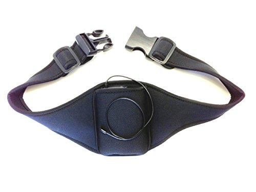 Savanizor Vertical Carrier Belt for Cellphones and Music Players, Lightweight, Comfortable Adjustable Cushioned Waist Belt for Biking, Hiking, Outdoor (Wireless Microphone Belt)