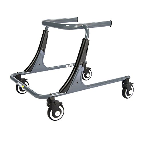 - Inspired by Drive Moxie GT Gait Trainer, Sword Gray, Large