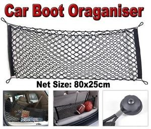 All Ride Universal Elasticated Auto Car Trunk Boot Storage Luggage Organiser Cargo Net edco