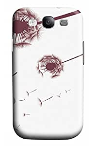 Online Designs Dandelion Brown PC Hard new case for samsung galaxy s3 purple