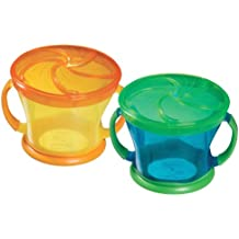 Munchkin Snack Catcher, 9 Ounce, 12+ Months, Color May Vary - 2 Count