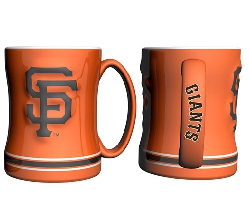 San Francisco Giants Coffee Mug - 14oz Sculpted (Orange)