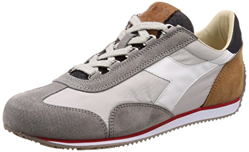 Diadora Mens Equipe Ita Sneakers, Blue-wing-teal, 42 Eu C4828 - Rain Deep Blue-grey
