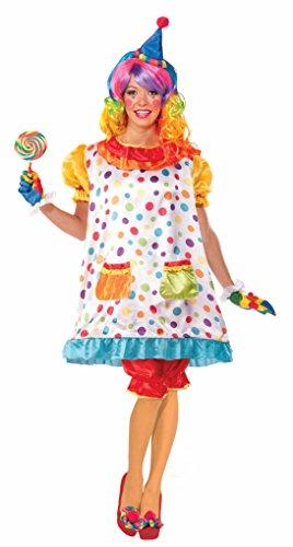 Forum Novelties Women's Wiggles The Clown Costume, Multi, (Wiggles Halloween Costumes)