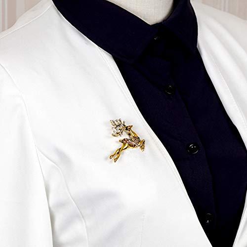 Femme et Hommes Bijoux Fantaisie Corsage et Pin Brooch de Mariage Nuptiale Femmes Accessoires Alliage-Style 71 Da.Wa No/ël Broche