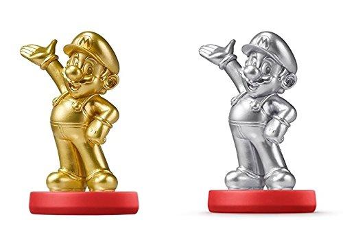 Mario Silver amiibo + Mario Gold amiibo (USA Edition) by Nintendo