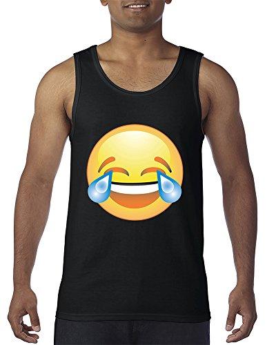 Laughing tears Emoji Tears of Joy Men's Tank Top]()