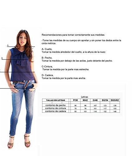 Susana Escribano I167-J005, Jersey para Mujer, Gris, 46 (Tamaño del Fabricante:G/46)