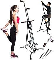 X Factor Vertical Climber Stair Climbing Step Fitness Machine, Adjustable Stair Climbing Fitness Machine, Home