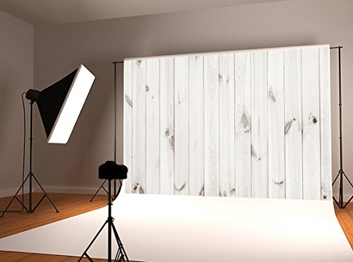 Kate 10x10ft White Wood Backdrop Customized Photo Background for Studio Props by Kate