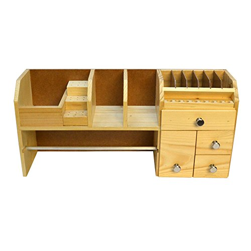 Price comparison product image Jewelers Workbench Organizer Storage Box Watchmakers Wooden Tool Rack