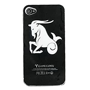comprar Nuevo sentido aries flash LED luz de color cambiante caso duro para el iphone 5 , Negro