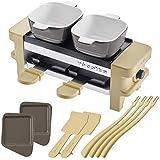 レコルト ラクレット&フォンデュメーカー メルト オプションパーツセット [ ベージュ/ミニパングレー ] recolte Raclette and Fondue Maker Melt