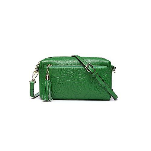 Moda Borsa Verde Donne Piccola Casual Delle Messaggero Ajlbt Piazza qvwtBnHz
