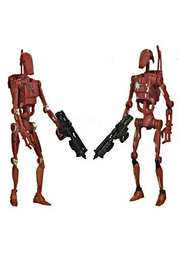 Battle Droids Saga Legacy Collection Star Wars Action Figure (style and colors may vary)