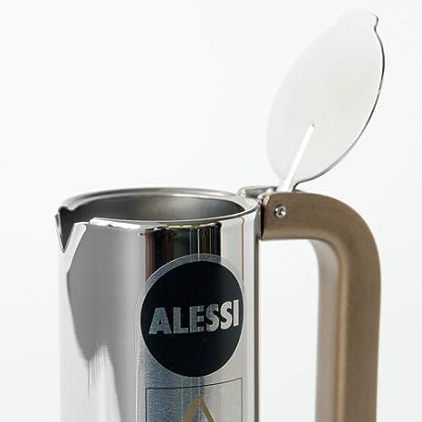 Alessi 9090/1 - Cafetera Italiana de Acero Inoxidable Brillo 18/10