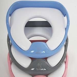 Tippitoes cushioned toilet trainer blue acolchada for Amazon inodoros