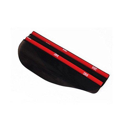 2 x Car Wing Exterior Side Mirror waterproof Eyebrow Rain Protection Cap AC53