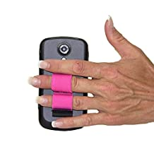 LAZY-HANDS 2-Loop Phone Grip - SMALL - Pink