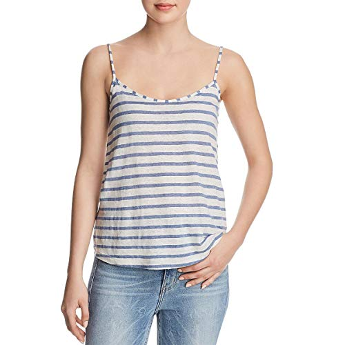 Splendid Scoop Neck Tunic Top - Splendid Women's Stripe Cami, Indigo Natural M