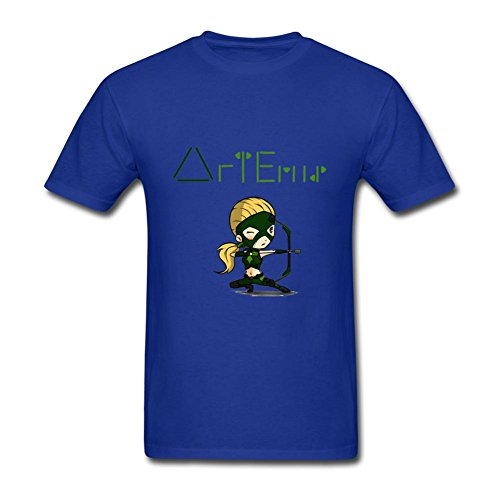 SCShirt Men's Cartoon Artemis Custom Short Sleeve Tshirt