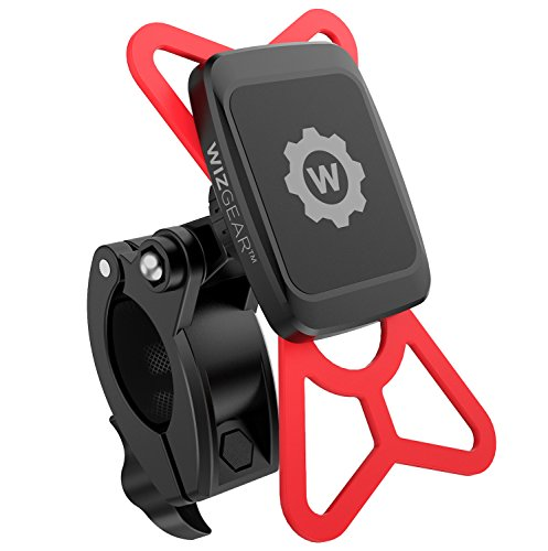 - WizGear Universal Magnetic Bicycle & Motorcycle Handlebar Phone Holder for Cell Phones and GPS with Fast Swift-Snap Technology,