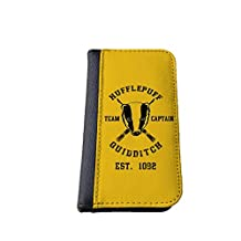 Harry Potter inspired Hufflepuff Samsung Galaxy NOTE 3 wallet case PU leather case, foldable flip case, book style - best Galaxy cases