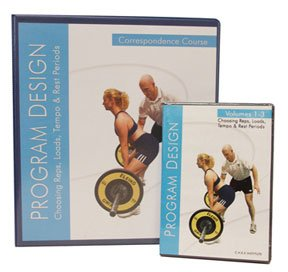 Program Design Correspondence Course Kit with 3 DVD's, Manual, Test and Certificate By Paul Chek