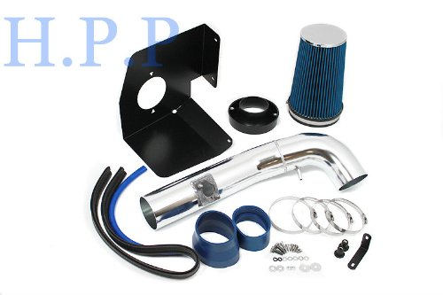 2009 2010 2011 Chevrolet Avalanche with 5.3L/6.0L V8 Heat Shield Intake BLUE (Included Air Filter) #HSI-CD-3B