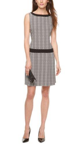 s.Oliver - Vestido de sin mangas para mujer, color mehrfarbig (white embroidery 01l5), talla 48
