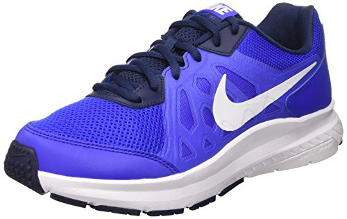 Bleu Bleu Bleu Dart racer Blue Running Nike De De De 414 Navy mid 11 white white Homme Chaussures TnqSY
