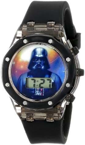 Star Wars Kids' DAR3519 Darth Vader Digital Watch with Black Rubber Band