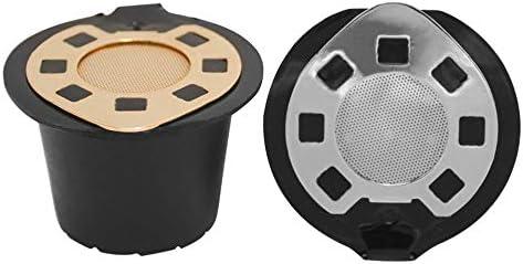 IBISHITAOXUNBAIHUOD 3PCS Reutilizable del caf/é de la c/ápsula de la Vaina de Filtro de Acero Inoxidable de sabotaje Gotero Compatible con Nespresso U M/áquina de caf/é
