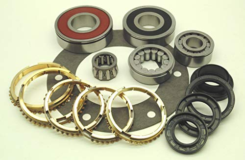 AX15 AX-15 TRANSMISSION REBUILD KIT WITH - 5 Drive Transmission Speed